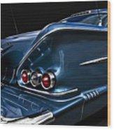 1958 Chevrolet Bel Air Impala Wood Print