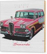 1958 Edsel Bermuda Wood Print