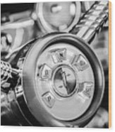 1958 Edsel Ranger Push Button Transmission 2 Wood Print