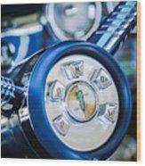 1958 Edsel Ranger Push Button Transmission Wood Print