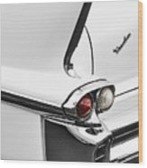 1958 Fin Wood Print