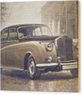 1959-62 Rolls-royce Silver Cloud II Wood Print
