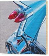 1959 Cadillac Eldorado 62 Series Taillight Wood Print