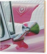 1959 Cadillac Eldorado Interior Wood Print