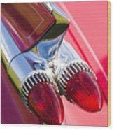 1959 Cadillac Eldorado Tail Fin 2 Wood Print