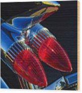 1959 Cadillac Eldorado Tail Fin 3 Wood Print