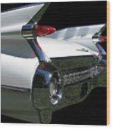 1959 Cadillac Tail Wood Print