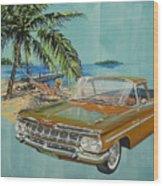 1959 Chevrolet El Camino Wood Print