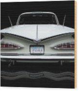 1959 Chevrolet Impala Wood Print