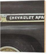 1959 Chevy Apache 1959 Wood Print