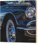 1959 Chevy Corvette Wood Print