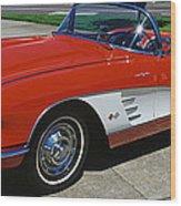 1959 Corvette Wood Print