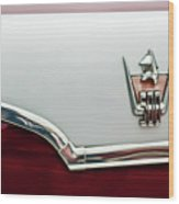 1959 Dodge Custom Royal Super D 500 Emblem Wood Print