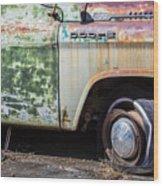 1959 Dodge D100 Sweptline Power Giant Pickup Wood Print