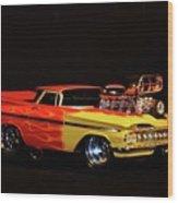 1959 El Camino Wood Print