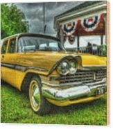 1959 Plymouth Suburban Sport 001 Wood Print