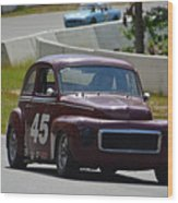 1959 Volvo 544 Wood Print