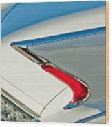 1960 Cadillac Eldorado Biarritz Convertible Taillight Wood Print