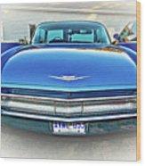 1960 Cadillac - Vignette Wood Print