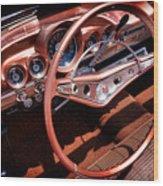 1960 Chevrolet Impala Convertible Wood Print