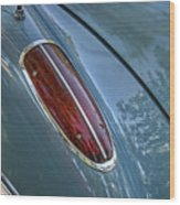 1960 Chevrolet Corvette Tail Light Wood Print