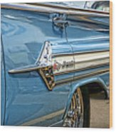 1960 Chevy Impala Wood Print