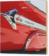 1960 Chevy Impala Low Rider Wood Print