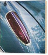 1960 Corvette Taillight Wood Print