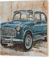 1960 Fiat 1100 103 H Wood Print