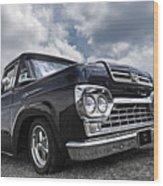 1960 Ford F100 Truck Wood Print