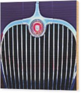 1960 Jaguar Xk150 Roadster 2 Wood Print
