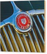 1960 Jaguar Xk150 Roadster 3 Wood Print
