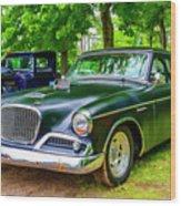 1960 Studebaker Hawk Wood Print