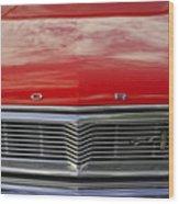 1960s Ford Galaxie Wood Print