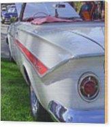 1961 Chevrolet Impala Convertible Wood Print