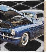 1951 Mercury Classic Car Photograph 002.02 Wood Print