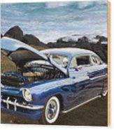 1951 Mercury Classic Car Photograph 005.02 Wood Print
