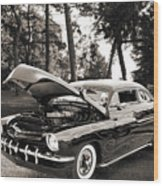 1951 Mercury Classic Car Photograph 006.01 Wood Print