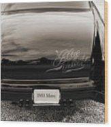 1951 Mercury Classic Car Photograph 018.01 Wood Print