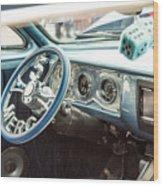 1961 Mercury Classic Car Photograph 021.02 Wood Print