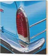 1961 Rambler Cross Country Tail Light Wood Print