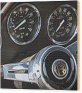 1962 Alfa Romeo Wood Print