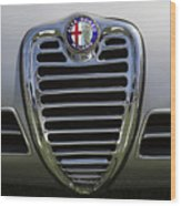 1962 Alfa Romeo Grille Wood Print