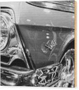 1962 Chevrolet Belair Bubbletop Wood Print