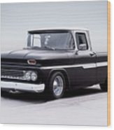 1962 Chevrolet Shortbed Pickup I Wood Print