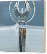 1962 Chrysler Imperial Hood Ornament Wood Print