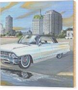 1962 Classic Cadillac Wood Print