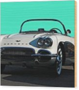 1962 Corvette Wood Print