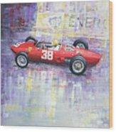 1962 Ricardo Rodriguez Ferrari 156 Wood Print