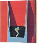 1962 Studebaker Avanti Badge Wood Print